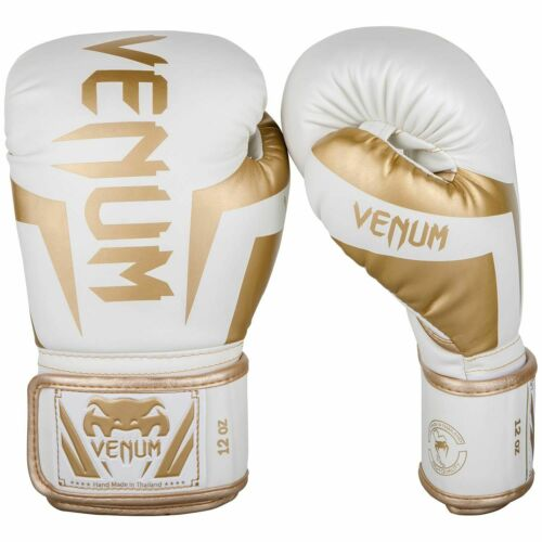 Venum Elite Guantoni Da Boxe-bianco//oro