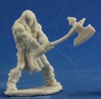 Barbarian Male 77373 - Dark Heaven Bones - Reaper Miniaturesd&d Wargames Axe