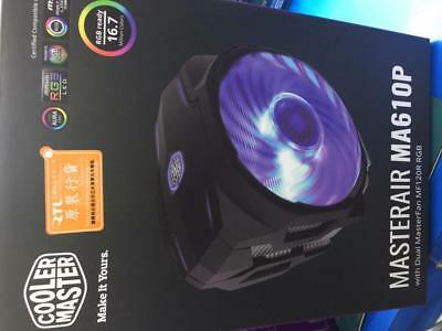 Brand New Cooler Master MasterAir MA610P RGB CPU Cooler With RGB CONTROLLER