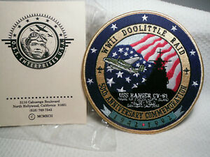 WWII-DOOLITTLE-RAID-50TH-ANNIVERSARY-COMMEMORATION-1942-1992-PATCH