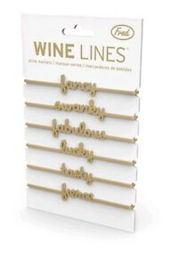 NEW-Fred-amp-Friends-WINE-LINES-Drink-Markers