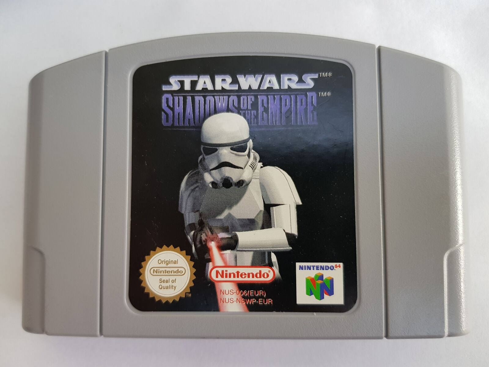 N64 Star Wars Shadows of the Empire - - jeu StarWars