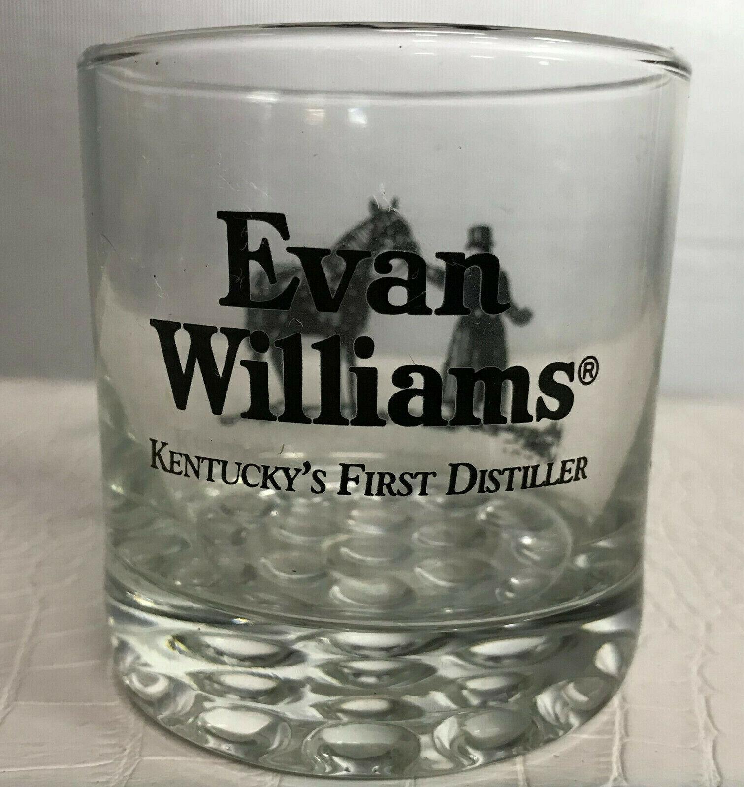 Evan Williams Single Barrel Vintage Glencairn Bourbon Whiskey Glass