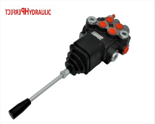 Kreuzhebel Handsteuerventil Handhebelventil Hydraulik 80L 2-fach 2xDW