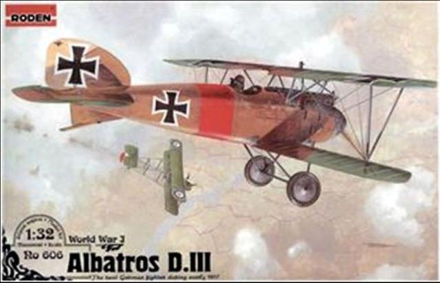 Roden Models 1//32 FOKKER D.VI German WWI Fighter