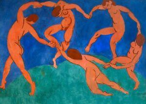 Expressionism HENRI MATISSE Dance 1909 Fauvism Art Poster