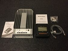 NEW 3215BN Tracer 30A 12/24V MPPT Solar Charge Controller with MT50 Remote Meter