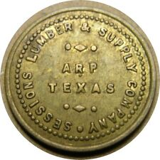 elf Arp Texas Sessions Lumber & Supply Co 5 Cents TC-88383 TX1973