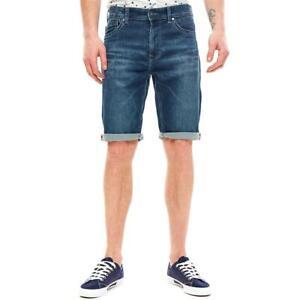 Pepe Jeans Cage Cut Short Herren Regular-Fit Jeans Shorts Bermuda Kurze Hose