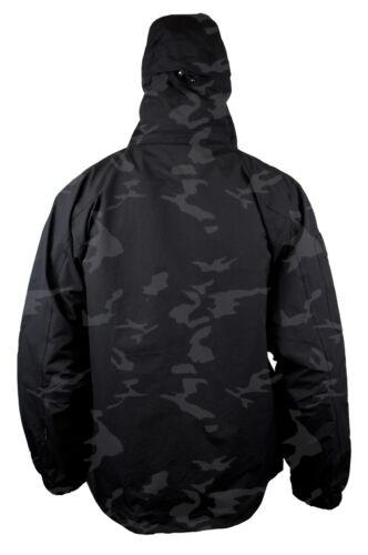 Mens Location Jagger Waterproof Balaclava Visor Lens Jacket Rain Hooded Coat