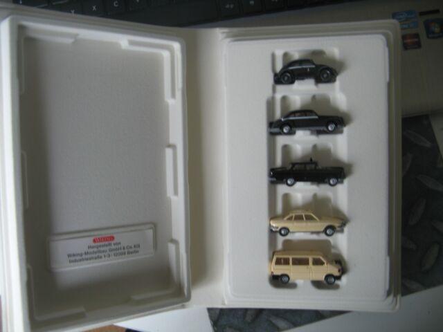WIKING TAXI-MODELLE VON 1947 bis !987 5tlg  in Schatulle NEU