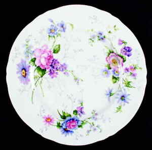 Crown-Staffordshire-ENGLAND-039-S-GLORY-Dinner-Plate-2475931