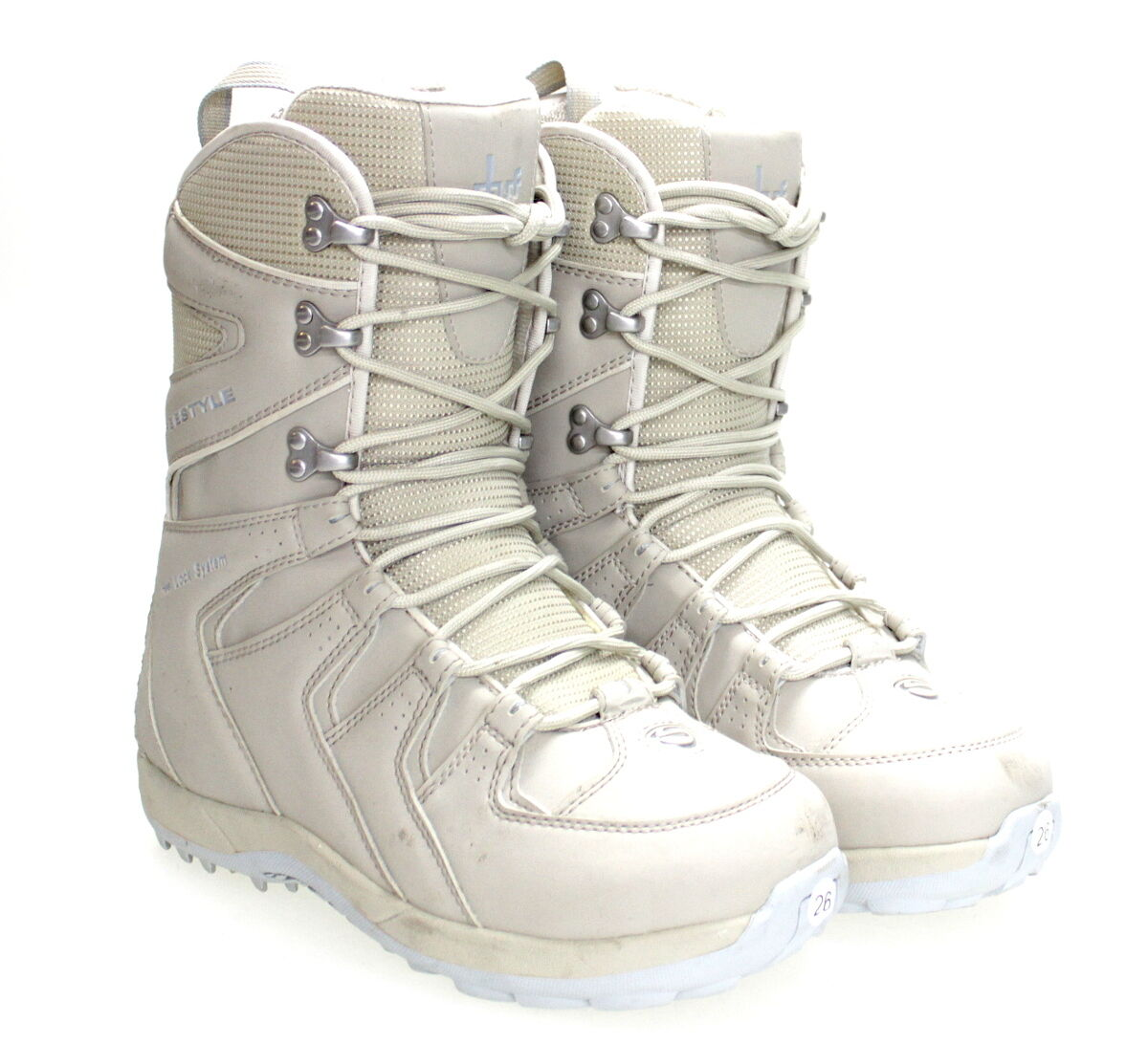 Stuf Freestyle Soft Boot Lady Size 40.5 Snowboard shoes Women's Boat S-N
