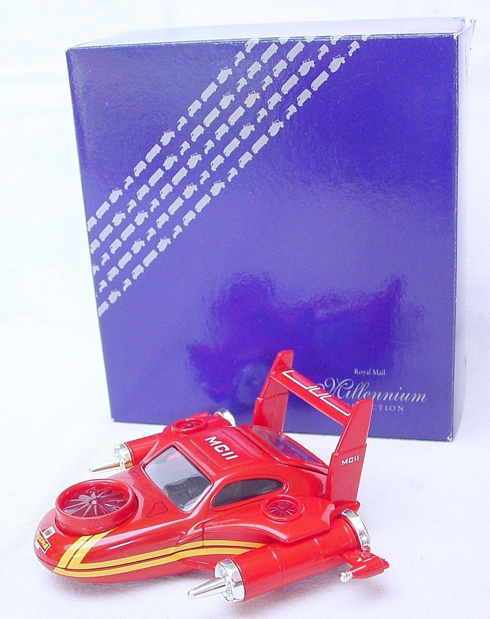Corgi Toys MILLENNIUM 2000 Royal Mail SPACE VEHICLE DELIVERY JET PLANE MIB RARE