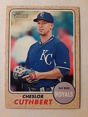 Cheslor Cuthbert Kansas City Royal Baseball Player Jersey
