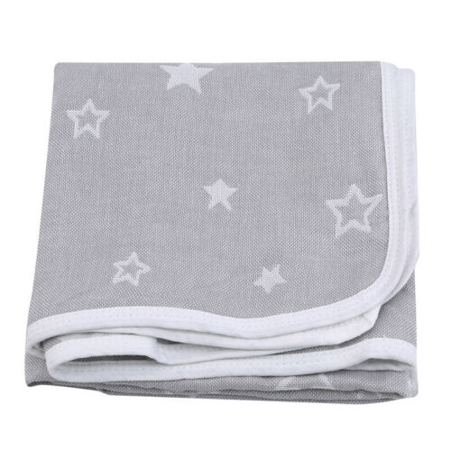 Newborn Print Swaddle Sleep Baby Blanket Spring Soft Cotton Blankets Crib Pram N