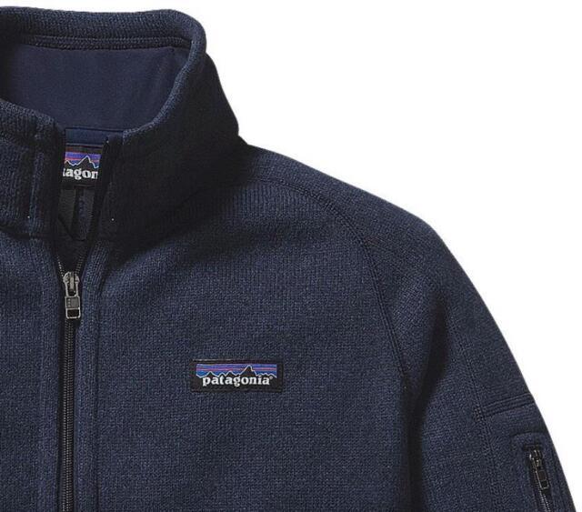 Patagonia Womens Better Sweater 14 Zip Fleece Jacket Navy Blue Xs
