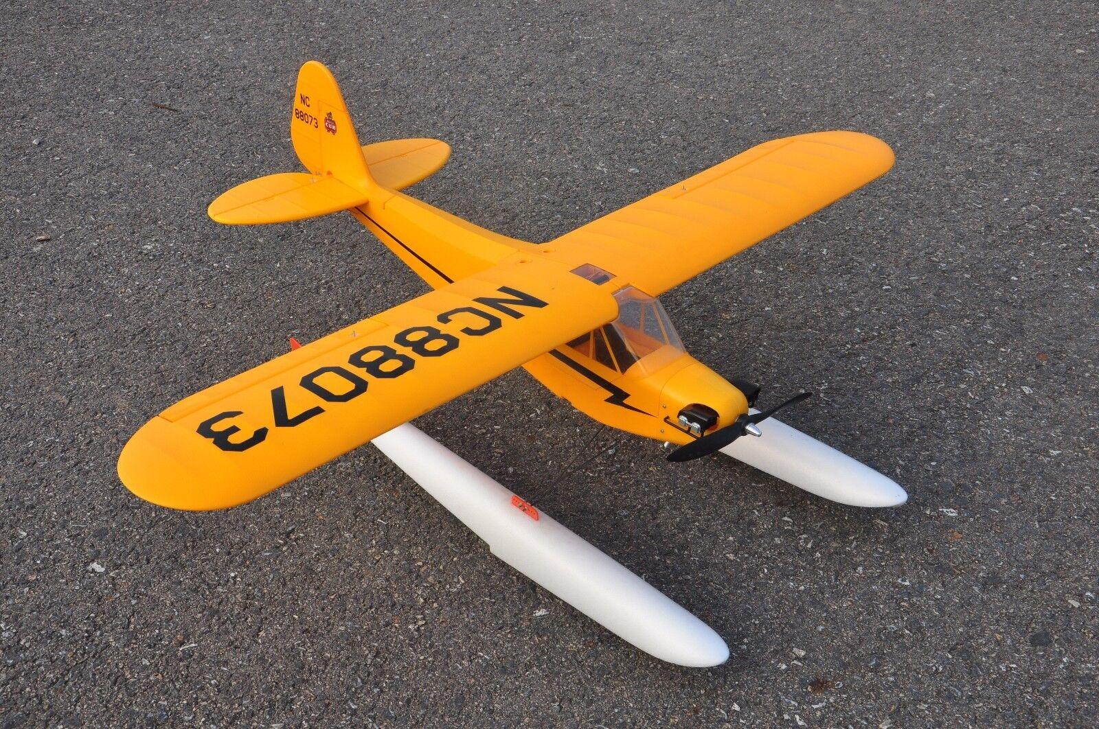 Dragon 4S 1400MM J3 Cub Piper Cub PNP w/landing gear & floats