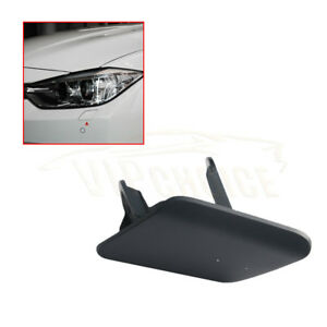 For-BMW-F30-F31-3-Series-12-15-Primed-Left-Headlight-Washer-Nozzle-Cover-Cap