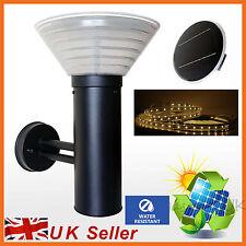 STRISCIA LED + LUCE LED Grande Giardino Energia Solare Lampada Da Parete/recinzione per esterni illuminazione un