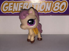 Littlest PetShop CHEVAL PONEY MARRON CLAIR 1512 e007 PONY HORSE Pet Shop