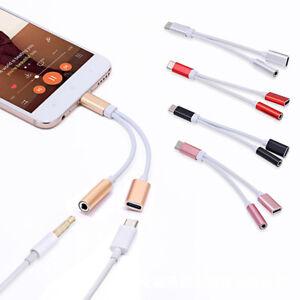 Lightning-aux-audio-3-5mm-Cable-Adapter-Headphone-Jack-Splitter-Fr-iPhone-X-8-7