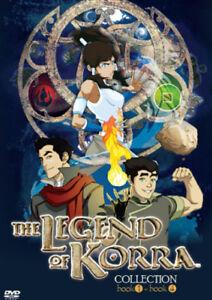 Avatar - The Legend Of Korra - Book (Season) - 1,2,3,4 ...
