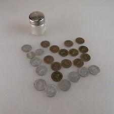 Posten 24 diverse Münzen für Kaufladen um 1925 (46364)