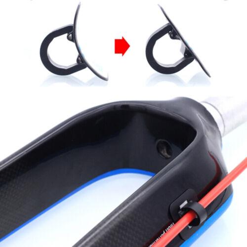 4* Bicycle Oil Tube Fixed Clamp Conversion Bike Frame U Buckle Tubing Clip*GuBE