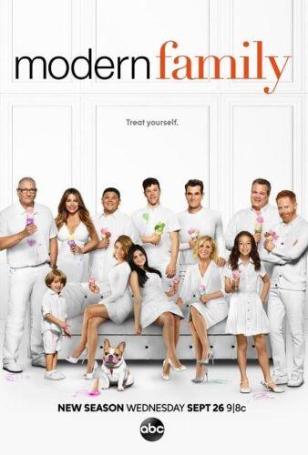 Z1300 Modern Family Hot Season 10 TV Series Silk Poster 36x24 40x27
