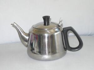 Tee-Kocher-mit-Sieb-Edelstahl-Tee-Kanne-1-L-Teebereiter-Gluehwein-Kaffee-Samowar