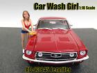 CAR WASH GIRL JENNIFER FIGURE 1:18 SCALE DIECAST MODELS AMERICAN DIORAMA 23845