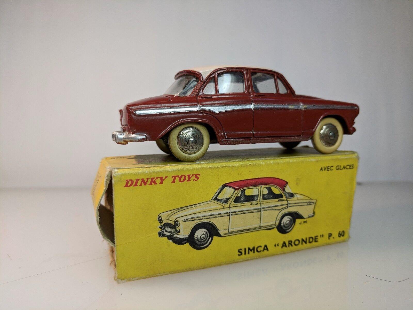Französische dinky spielzeug - 544 simca aronde s.60 original box