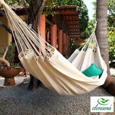 Las familias hamaca piquenique de 100/% algodón tuchhängematte de denana