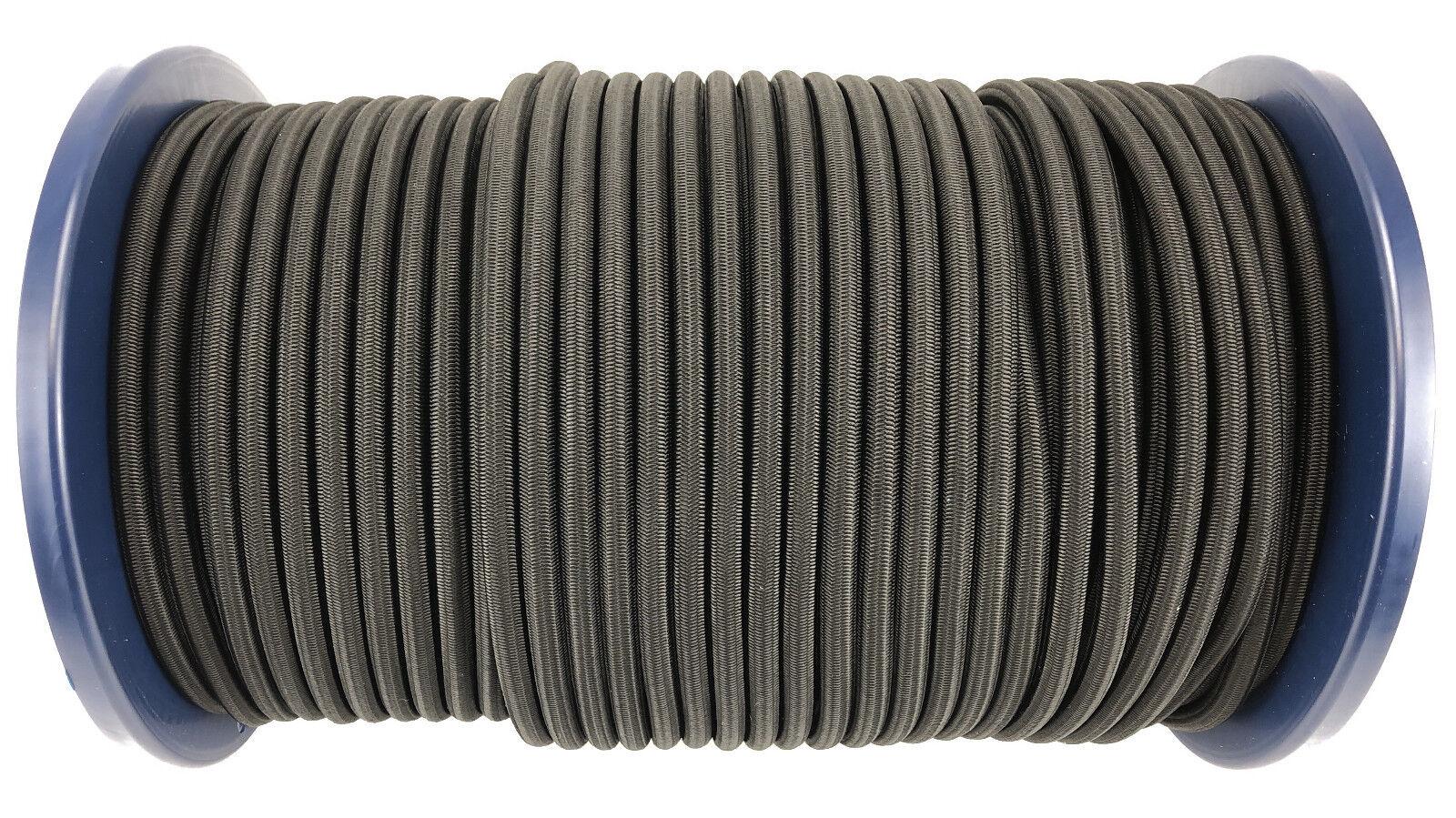 12 mm Anbindung schwarz elastisch Gummi seil. Gummiseil Anbindung mm x 35 M 3ed204
