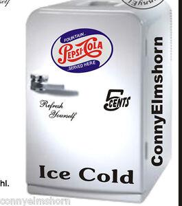 Pepsi-Cola-Aufkleber-Set-4-teilig-fuer-ihren-Kuehlschrank-Kuehlbox-Getraenkeschrank