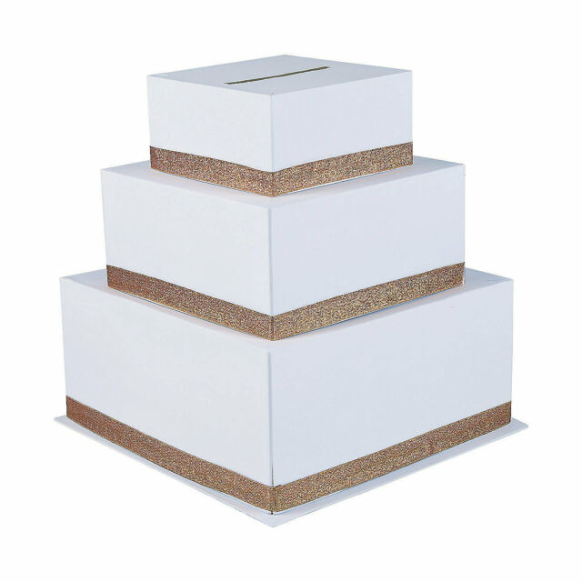Copper Wedding Card Box Party Supplies 1 Piece For Sale Online