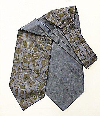 Amichevole Vintage Smart Biadesivo Cravatta Blu Navy O/s & Navy Blue & Nero L'altra-mostra Il Titolo Originale Fabbricazione Abile