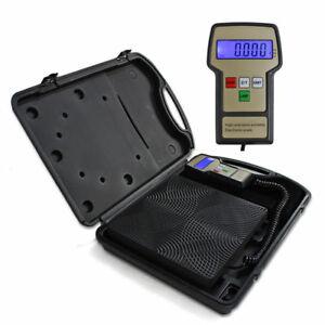220lbs-Digital-Electronic-Refrigerant-Charging-Weight-Scale-for-HVAC-Black-New