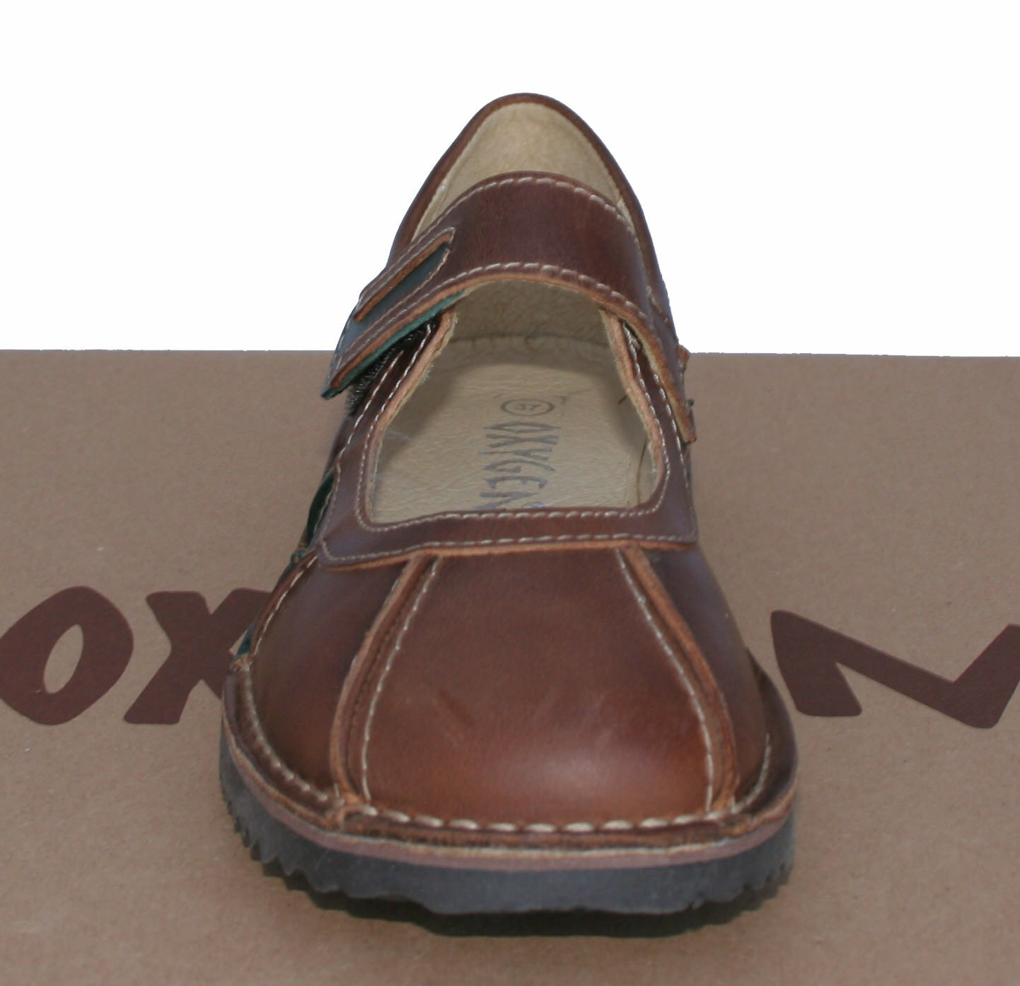 Oxygen Stitch Down Mary Jane chaussures Rostock Tan Tan Tan Tailles 38 & 41 (UK 5 & 7.5) 6c6e3e