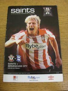 25-08-2009-Southampton-v-Birmingham-City-Football-League-Cup-creased-Thanks