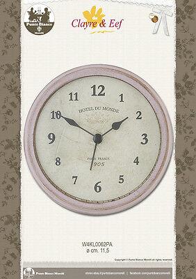 Inteligente Clayre & Eef. Orologio – Clock – Uhr. W4kl0062pa. Acquista Sempre Bene