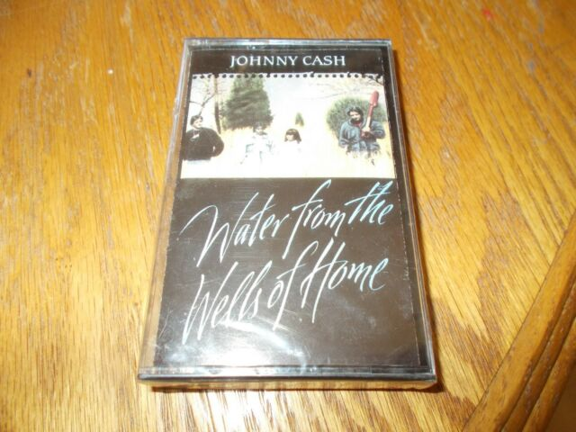 Johnny Cash Cassette Water From The Wells Of Home Brand New Sealed Ebay