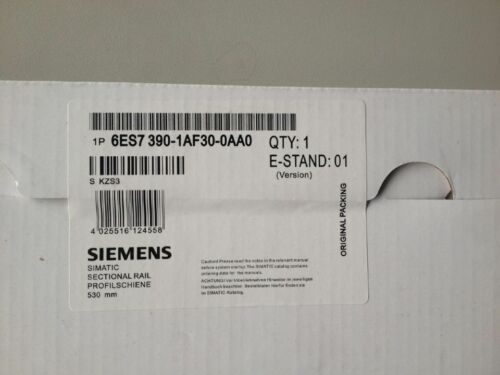 1Pcs Siemens Sectional Rail 530mm 6ES7390-1AF30-0AA0 NEW IN BOX