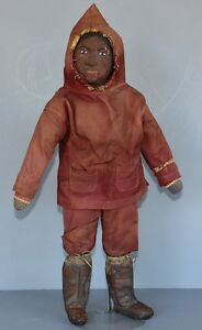 RARE-PAPIER-MACHE-DOLL-By-034-WILFRED-GRENFELL-034