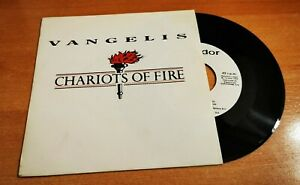 Vangelis Chariots Of Fire 7 Spanish Promo Single Vinyl Unique Cover Rare 1992 Ebay