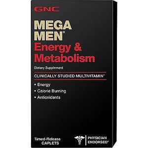 90ct-GNC-Mega-Men-Energy-amp-Metabolism-Vitamins-Dietary-Supplements-Caplets-New