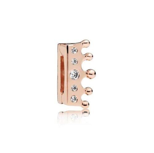 Authentic 925 Sterling Silver Charm Perles SHINE REFLEXION clip bracelet