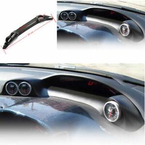 For-2006-2011-Honda-Civic-Dry-Carbon-Fiber-BYS-Dashboard-Frame-Decor-Cover-Trim