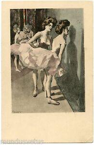 FERDINAND REZNICEK. BALLERINES. BALLERINA. SIMPLICISSIMUS KARTE SERIE V. N° 10